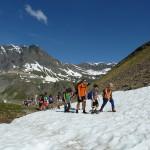 Passaggio su nevaio