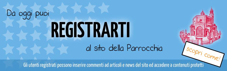 registrazione sito parrocchiadisangiorgio.com