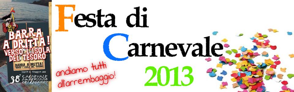 Festa di Carnevale 2013