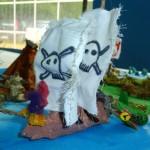 Il plastico dell'Isolachenoncè - Il vascello di Capitan Uncino
