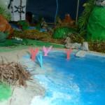 Il plastico dell'Isolachenoncè - La laguna delle Sirene