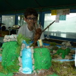 Il plastico dell'Isolachenoncè - Cascata