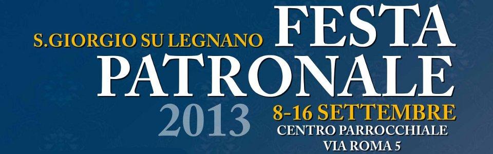 Programma Festa Patronale 2013