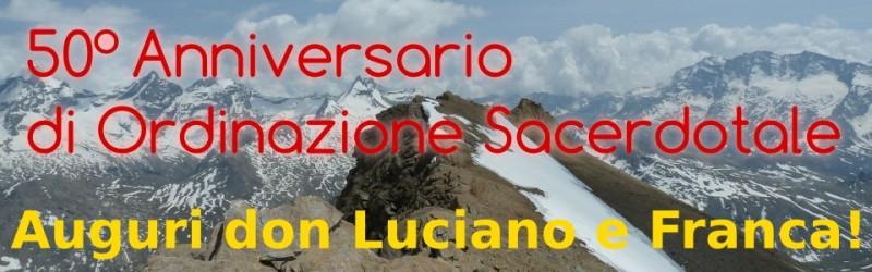 50 anni di sacerdozio don Luciano Premoli