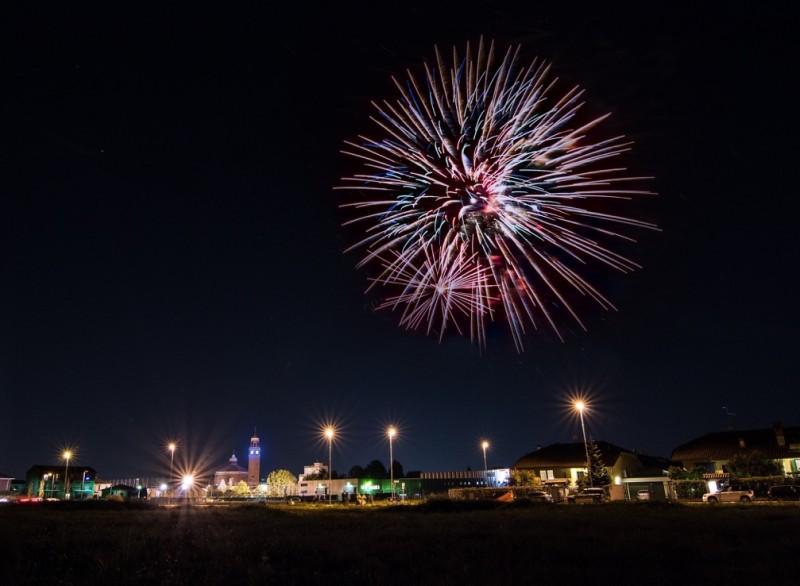 Fuochi d'artificio alla Festa Patronale