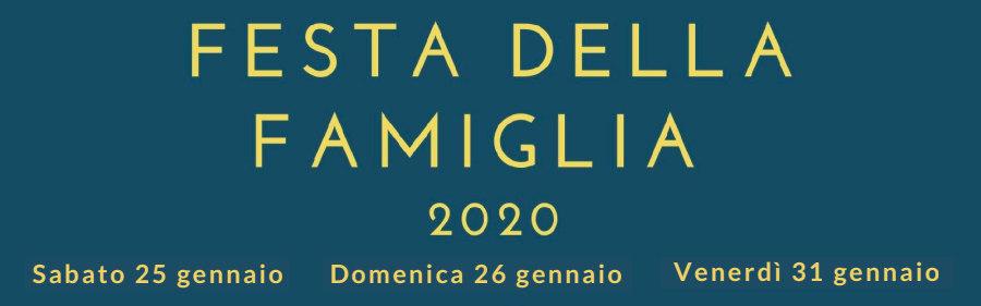 Festa della Famiglia 2020