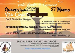 Via crucis 27 Marzo